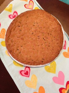 12 Inch Cookie Cake - can be decorated with icing for any occasion