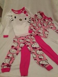 Size 4 Hello Kitty Pajamas