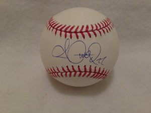 Andrew McCutchen Autographed Baseball