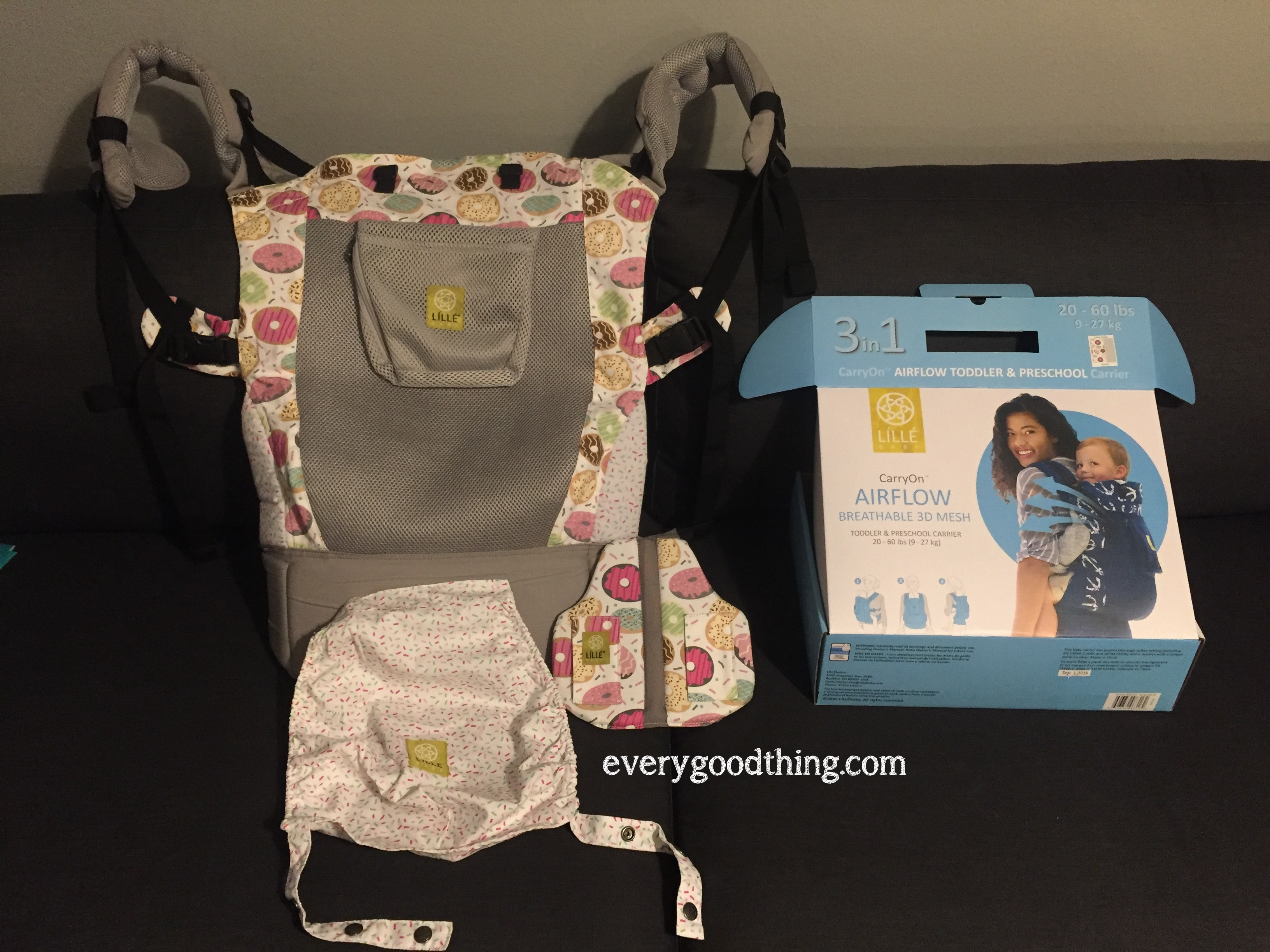 Lillebaby carryon airflow unboxed