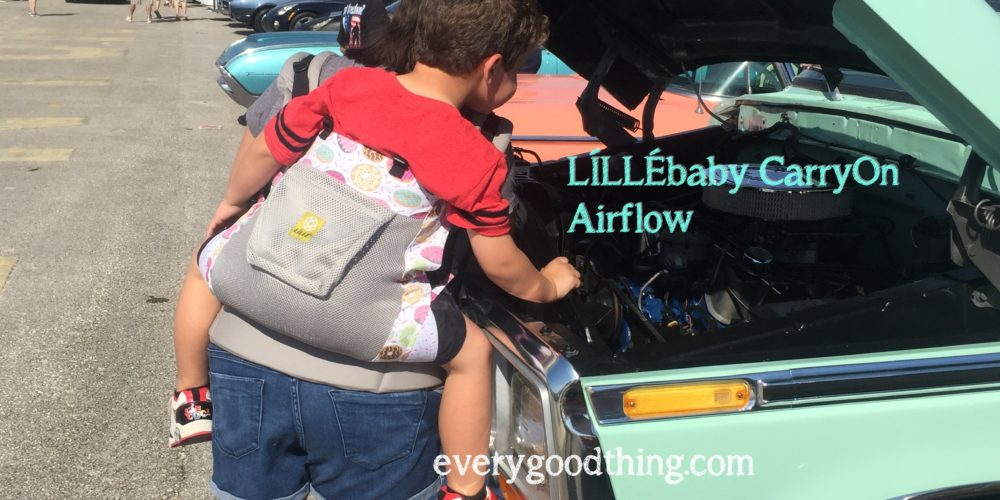 lillebaby carryon airflow truck